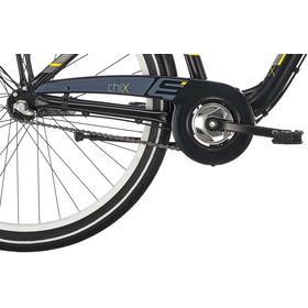 s'cool chiX 26 3-S Juniorcykel Børn alloy grå